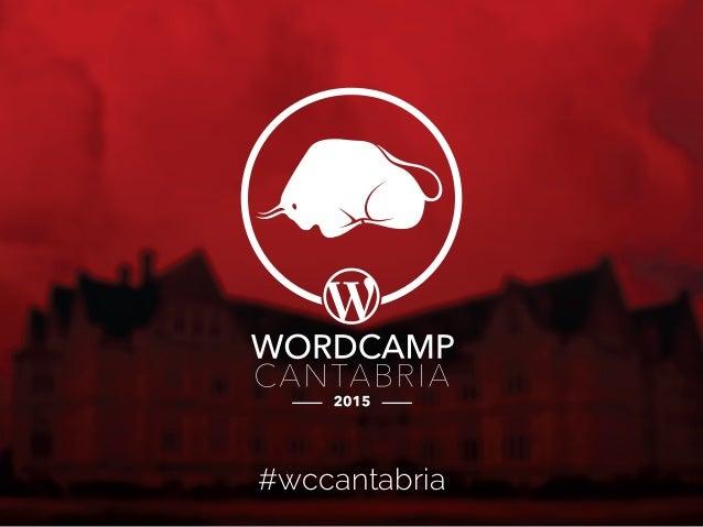 Optimiza WordPress y a correr - WordCamp Cantabria 2015 - @DarioBF Slide 2