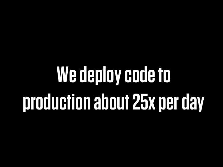 Optimizing for developer happiness Slide 3