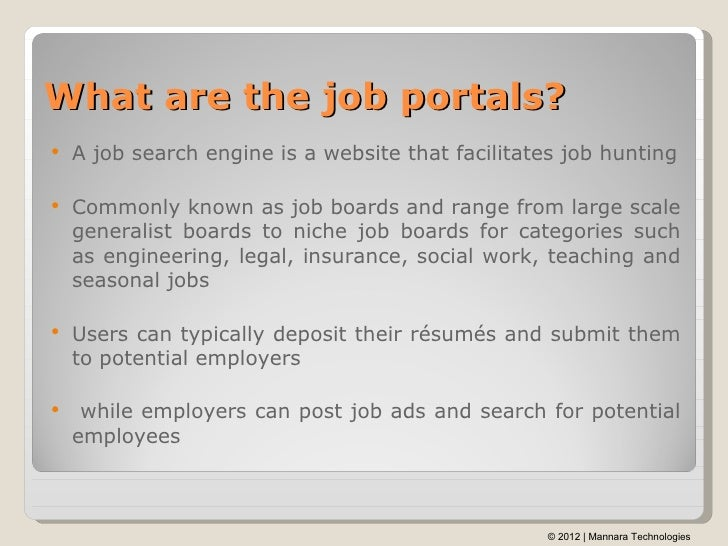 cv search on job portal