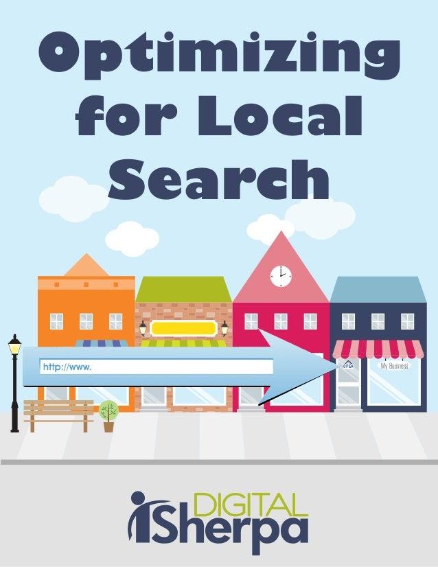 My BusinessOPENOptimizingfor LocalSearch