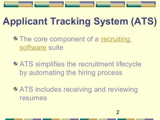taleo applicant tracking system