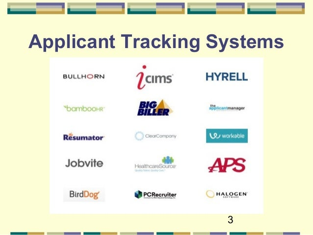 3 applicant tracking systems