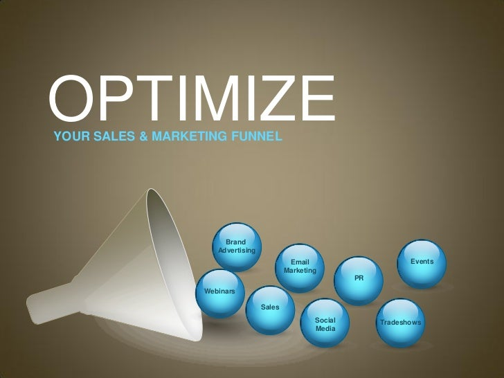 Optimize Your Sales & Marketing Funnel