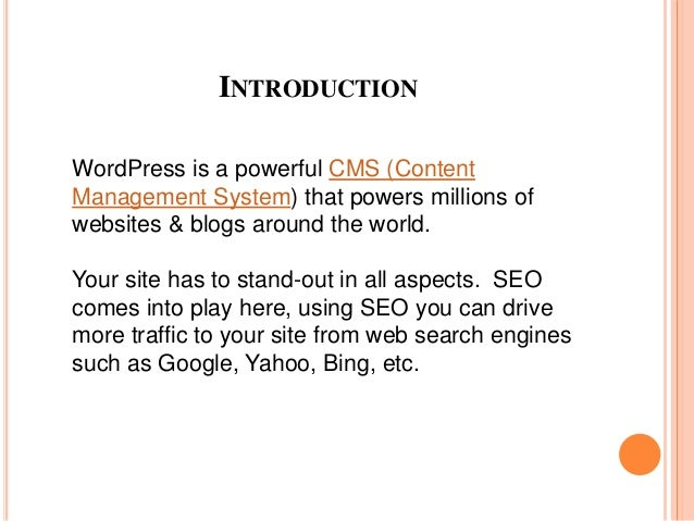 how to optimize your website for search engine use