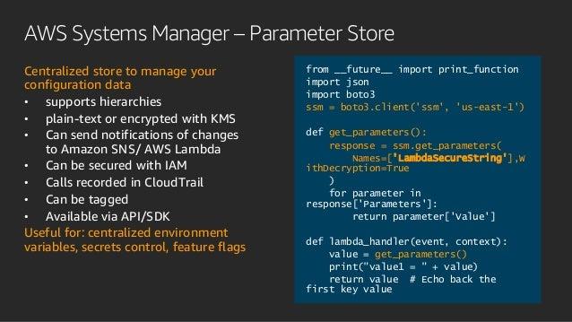 Optimizing Your Serverless Applications (SRV401-R2) - AWS re