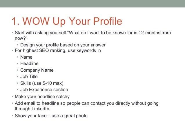 9 Steps To Optimizing Linkedin For Business, Personal Branding & Career Opportunities Slide 2