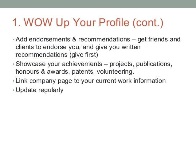 9 Steps To Optimizing Linkedin For Business, Personal Branding & Career Opportunities Slide 3