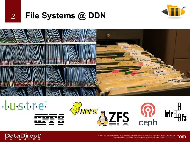 Optimizing Lustre and GPFS with DDN Slide 2