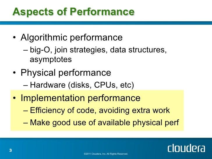 Optimizing MapReduce Job performance Slide 3
