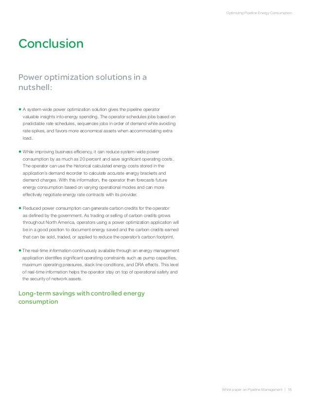 Energy consumption essay