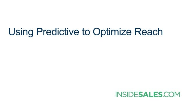 BestProspect QualityWorst Effort CloseRate APPS INCREASE PRODUCTIVITY Increased Capacity