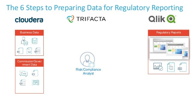 Business Data Commission/Gover nment Data Risk/Compliance Analyst Regulatory Reports The 6 Steps to Preparing Data for Reg...