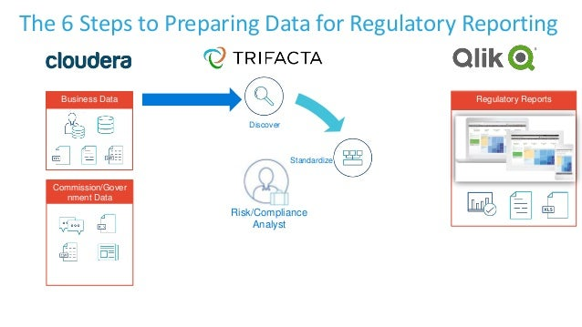 Discover Business Data Commission/Gover nment Data Risk/Compliance Analyst Regulatory Reports The 6 Steps to Preparing Dat...