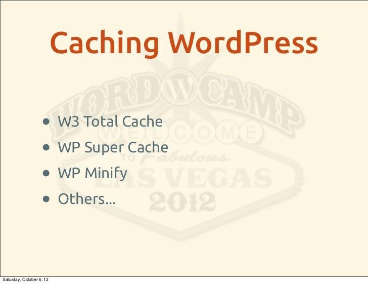 Optimizing WordPress Performance on Shared Web Hosting slideshare - 웹