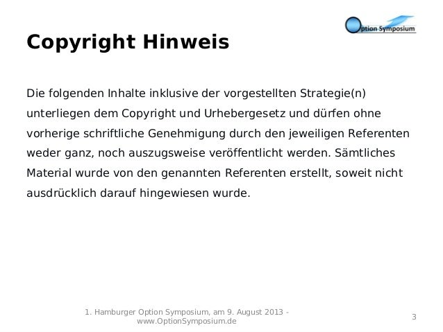1. Hamburger Option Symposium Slide 3