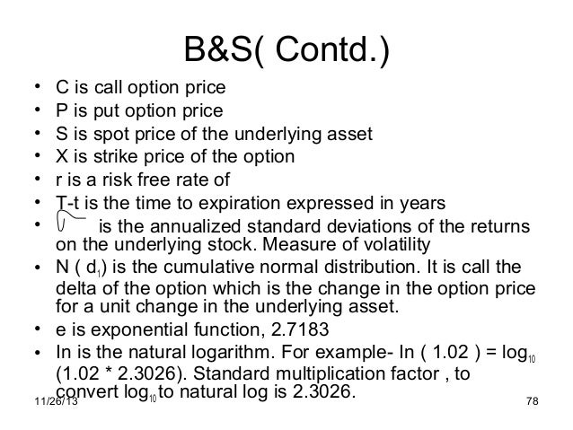 Options puts and calls definition 666