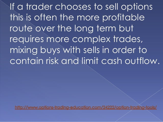 Option trading tool