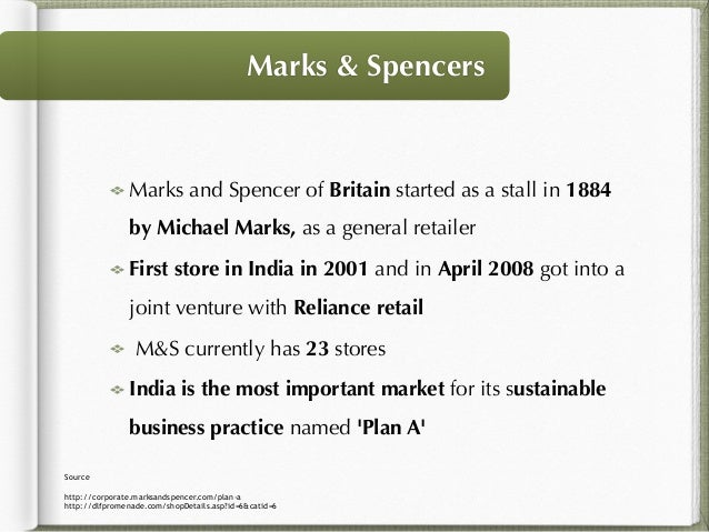 Marketing marks and spencers essay