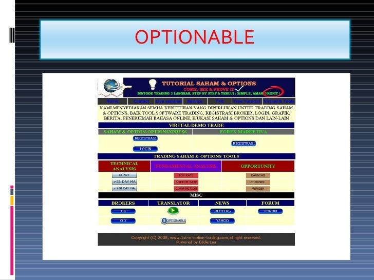 Belajar trading option youtube