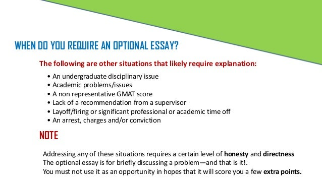 Mba admission essay buy optional