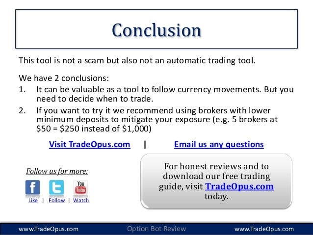 Real binary options bot