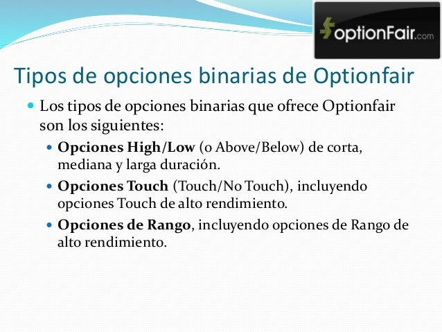 Seminarios de opciones binarias