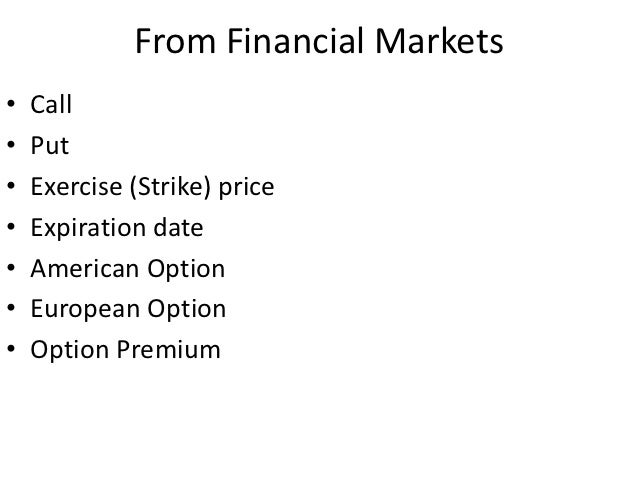 Fx options market conventions