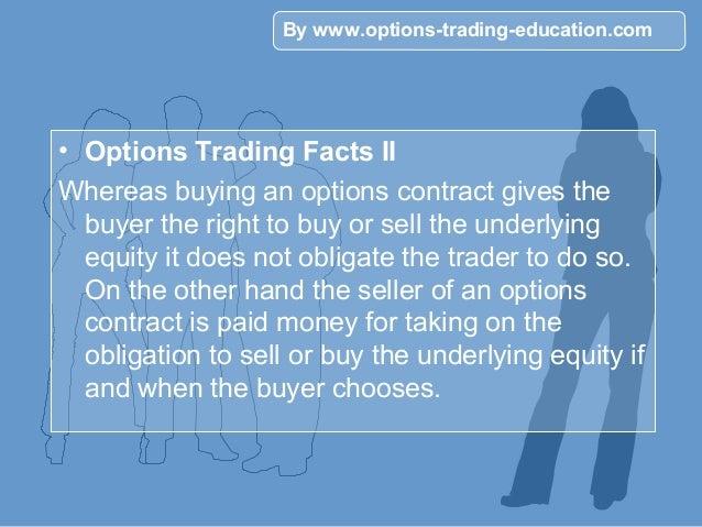 Option trading statistics