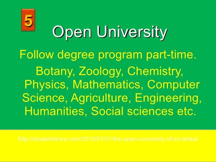 university degree 2017