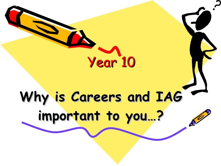 Why is Careers and IAG important to you…? Year 10