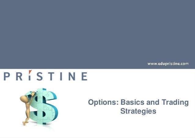 Basic options trading strategies