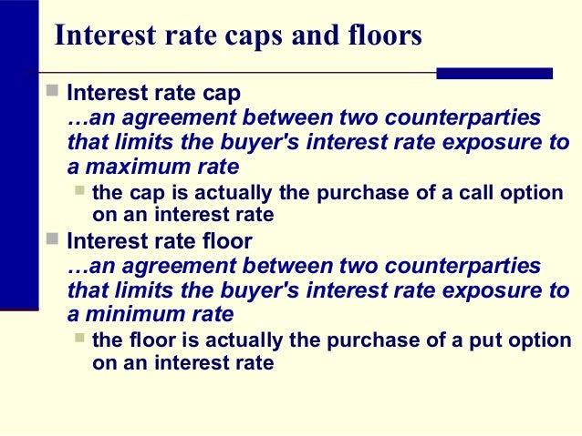 interest rate cap premium