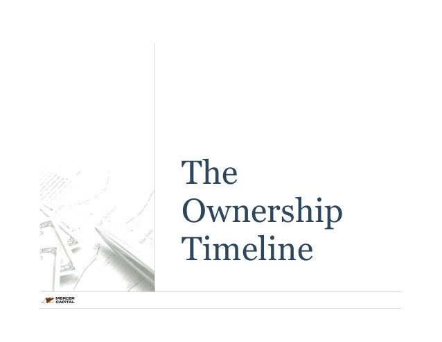 The  Ownership  Timeline