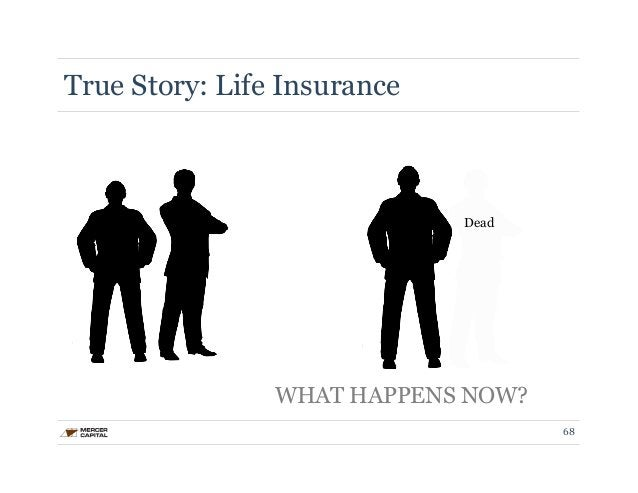 True Story: Life Insurance  Dead  WHAT HAPPENS NOW?  68