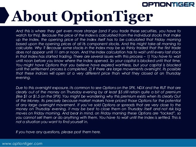 Why option prices lag stock prices a trading-based explanation