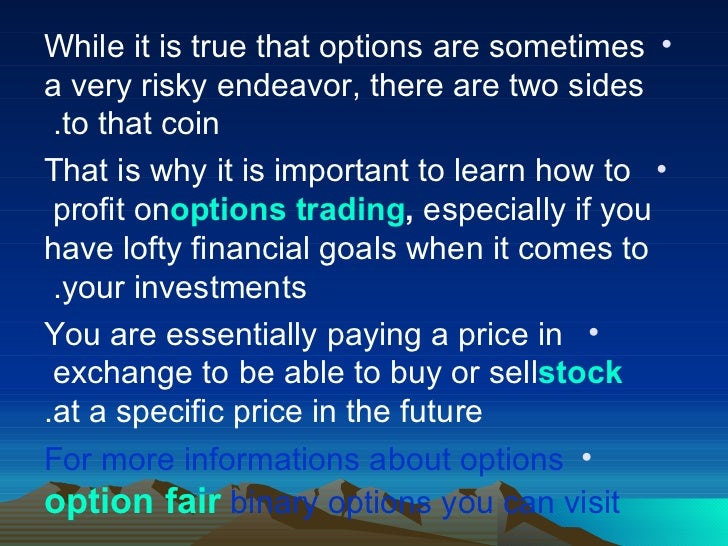 How to learn option trading