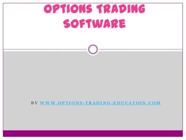 Option trading practice software