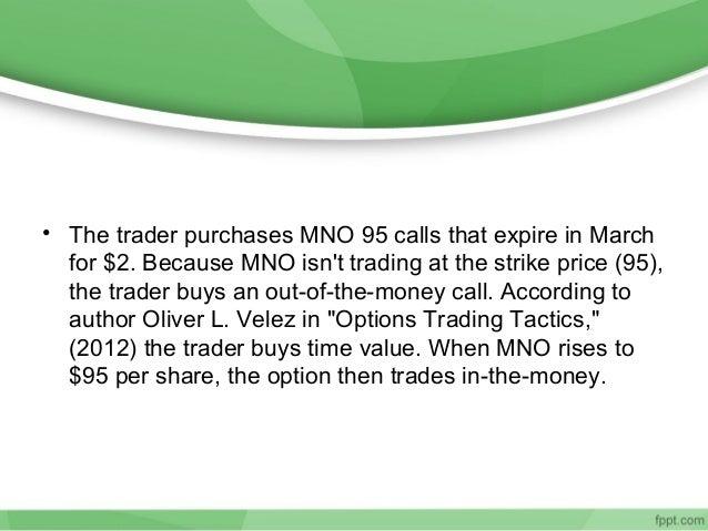 Option trading strategies summary