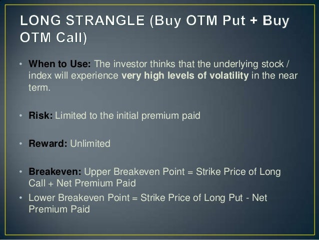 19 options strategies