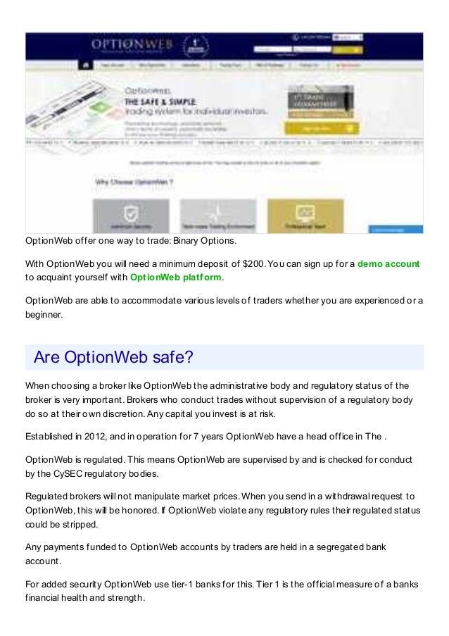 optionweb revue