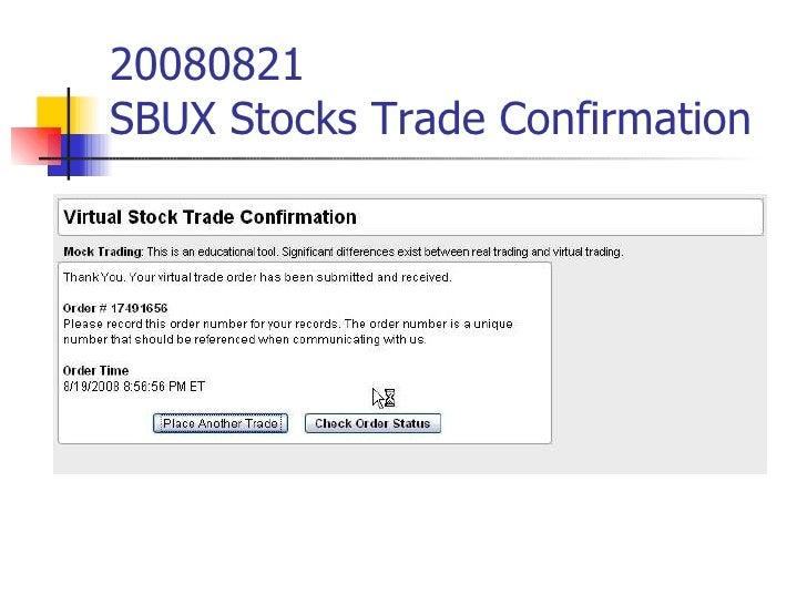 Sbux stock options