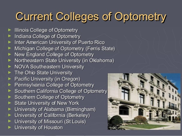 Our Main Objective  Dedicated to making you a successful  and cutting-edge optometrist in any setting you choose.