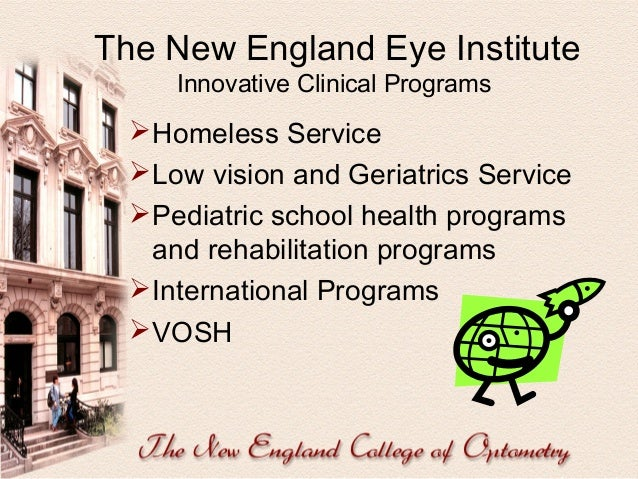 Curriculum 2010  Prepares you to practice as a future optometrist.  Prepares you for Credentialing and Privileging withi...