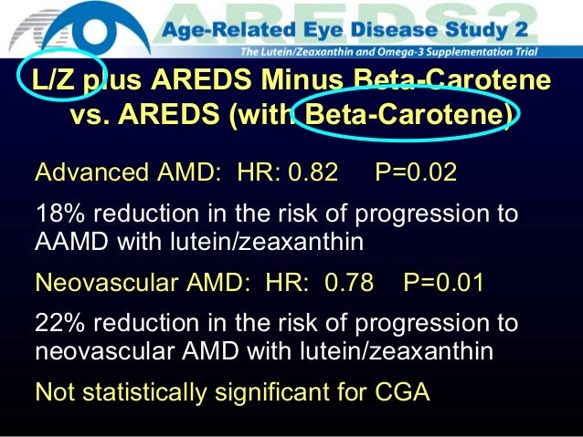 Age-Related Eye Disease Study 2 (AREDS2) | Emmes