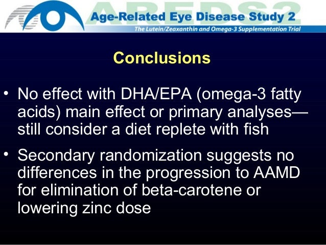 The Age‐related Eye Disease Study (AREDS) - - 2002 ...
