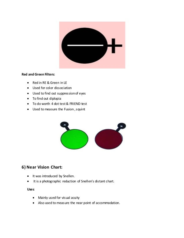 Optometry instruments