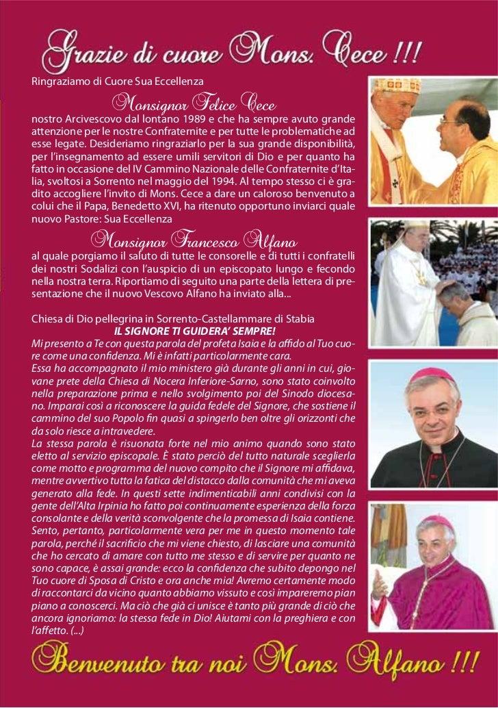 Ringraziamo di Cuore Sua Eccellenza                    Monsignor Felice Cecenostro Arcivescovo dal lontano 1989 e che ha s...