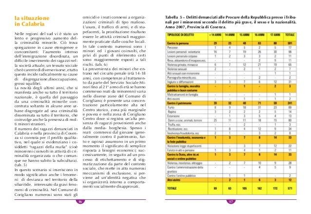 18 19 le misure alternative alla detenzione Le norme Europee in materia di de- tenzione di minori mirano a preve- nire il ...