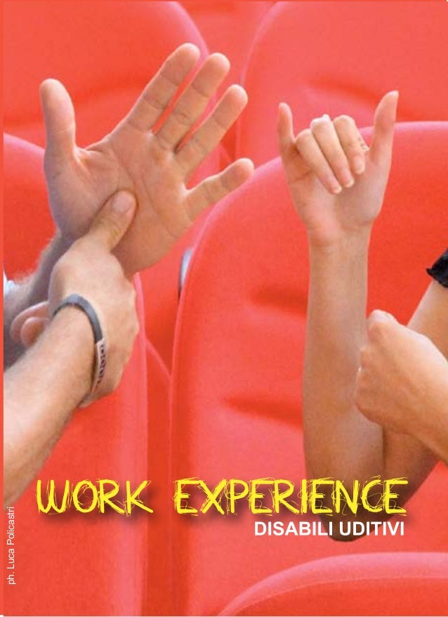 1 WORK EXPERIENCE ph.LucaPolicastri