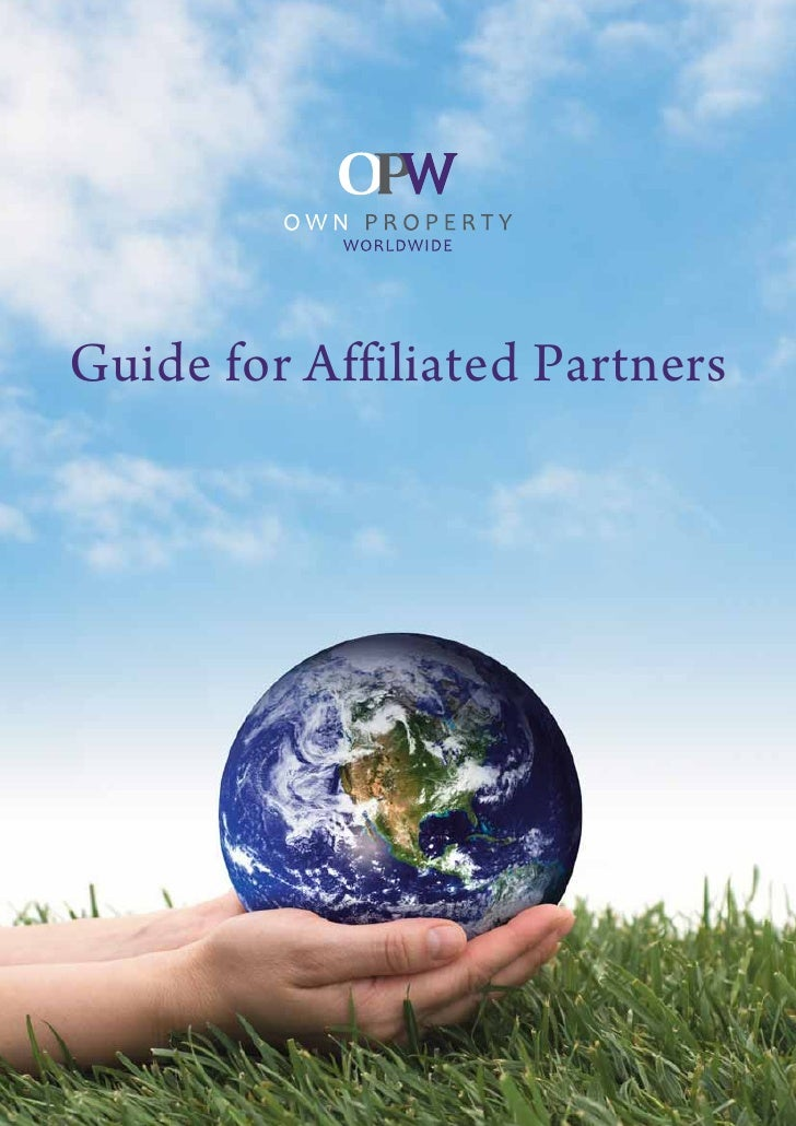 Guide for Affiliated Partners